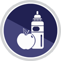 Weekly nutritional support icon