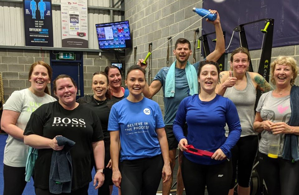 group personal trainer portsmouth